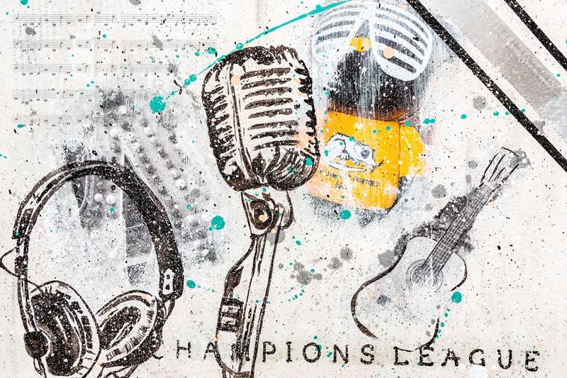 Champions League Kunstdruck Hearteliershop.com