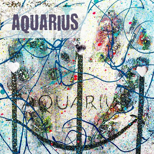 Aquarius Kunstdruck Hearteliershop.com