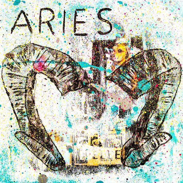 Aries Kunstdruck Hearteliershop.com