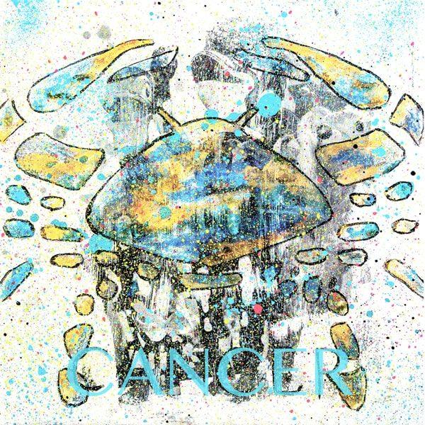 Cancer Kunstdruck Hearteliershop.com