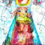 Dirndl Kunstdruck Hearteliershop.com