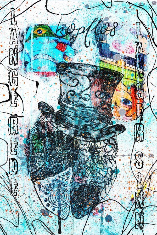 Kopflos Kunstdruck Hearteliershop.com