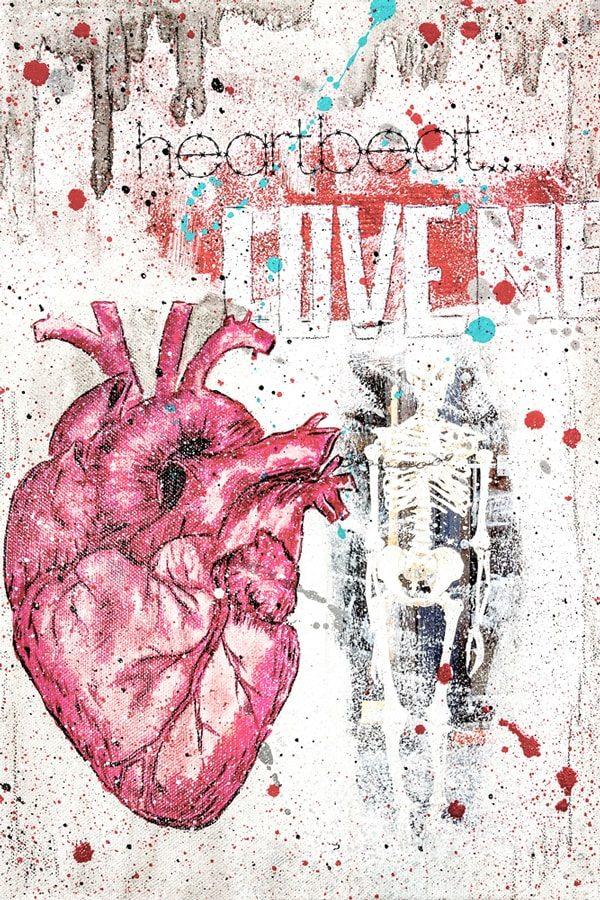 Love me Kunstdruck Hearteliershop.com