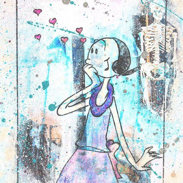 Olive Kunstdruck Hearteliershop.com