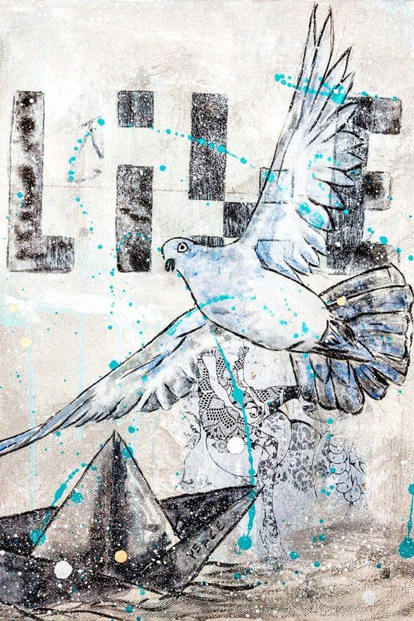 Peace Kunstdruck Hearteliershop.com