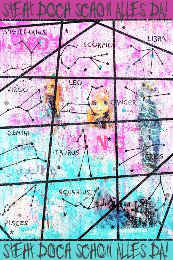 Starsign Kunstdruck Hearteliershop.com