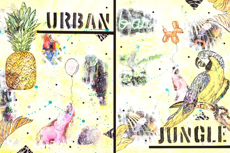 Urban Jungle Kunstdruck Hearteliershop.com