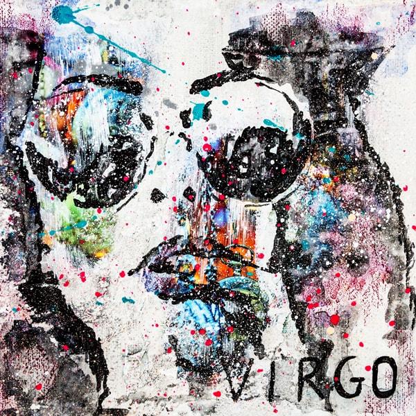 Virgo Kunstdruck Hearteliershop.com