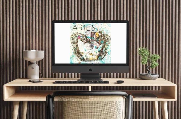 Online Kurs Malen lernen Aries