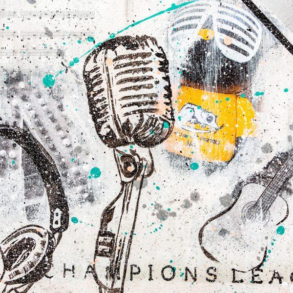 Online Kurs Malen lernen Champions League