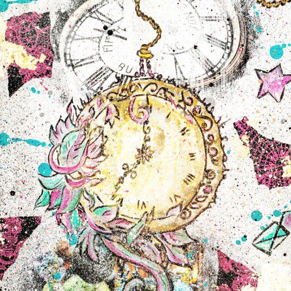 Online Kurs Malen lernen Clock