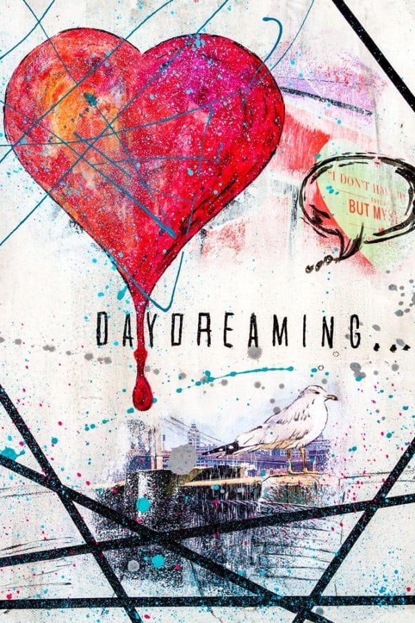 Online Kurs Malen lernen Daydreaming