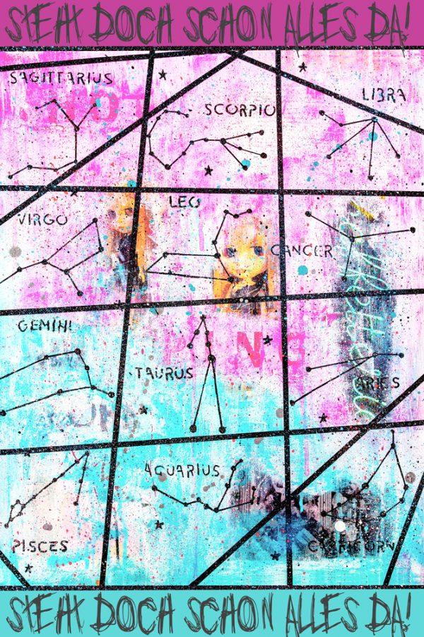 Online Kurs Malen lernen Starsign
