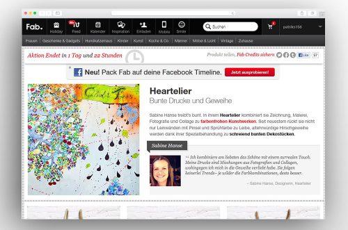 Grosshandel Onlinemarketplaces Auftraege Hearteliershop